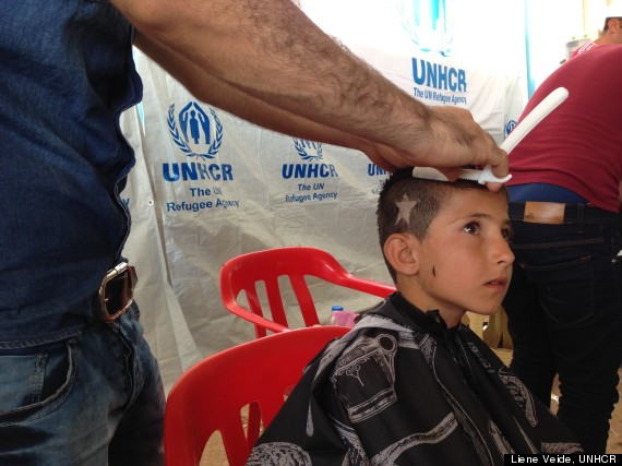 barbers in syria iraq