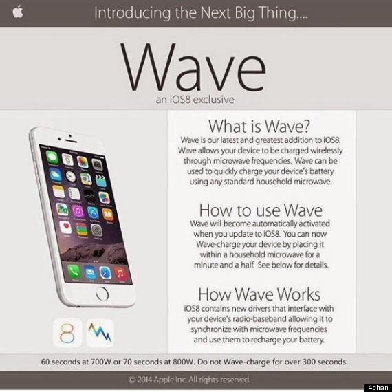 microwave iphone