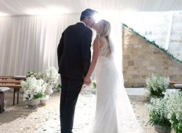 A Behind-The-Scenes Look At Lauren Conrad's Gorgeous Wedding Gown
