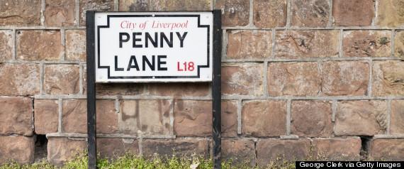 penny lane beatles