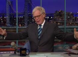 Letterman Rachel Ray Interview