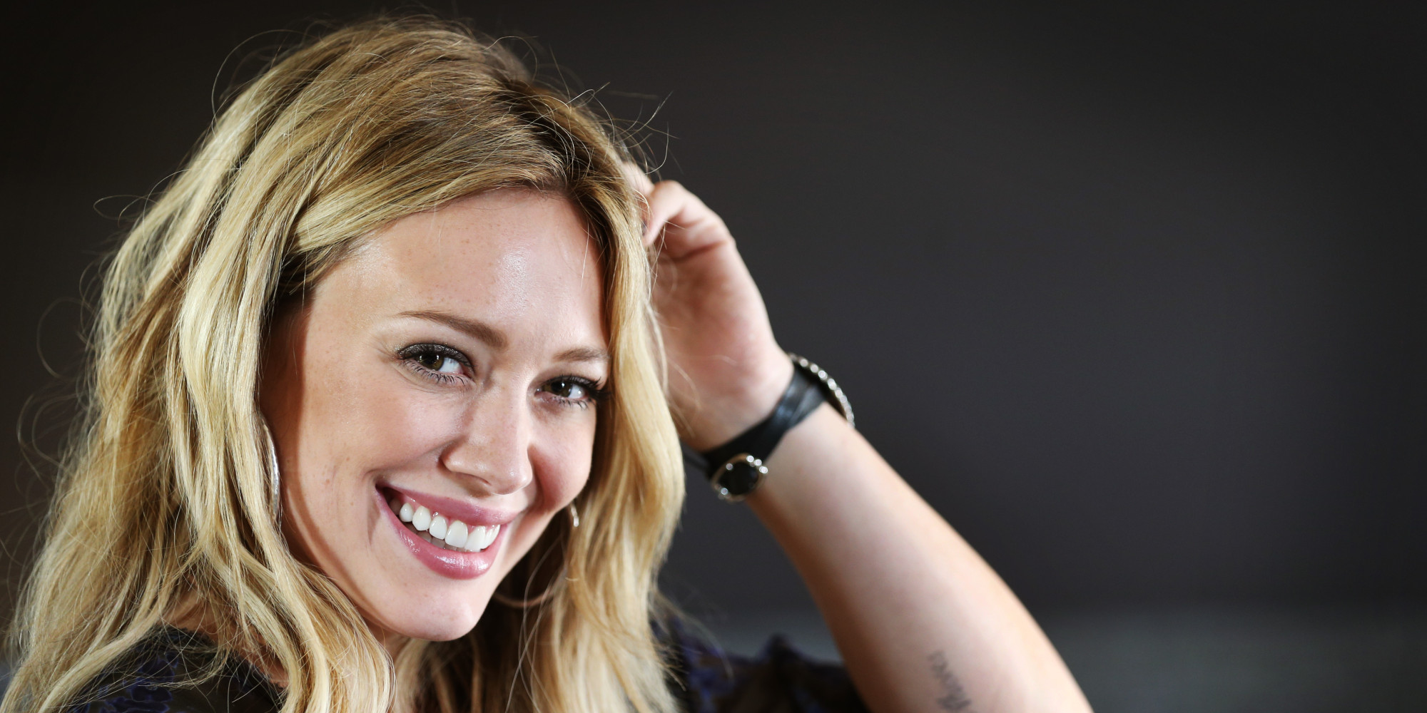 hilary duff with love