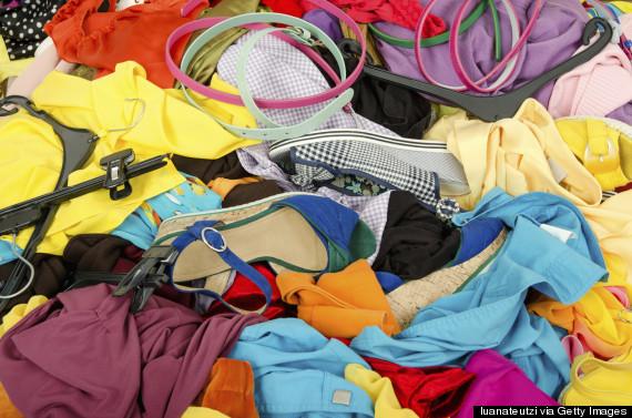 summer clothes closet