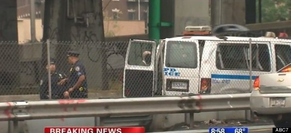 NYPD Officer Dead, 8 Injured In Police Van Crash