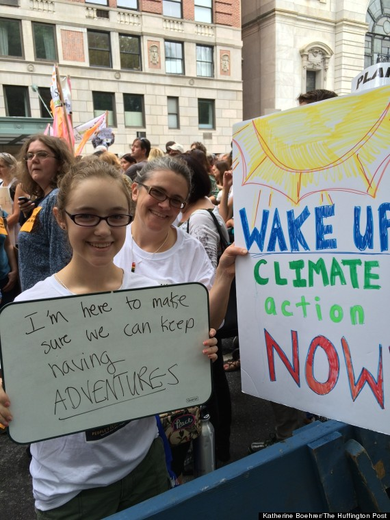 climate march 18