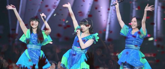 ライブのPerfume