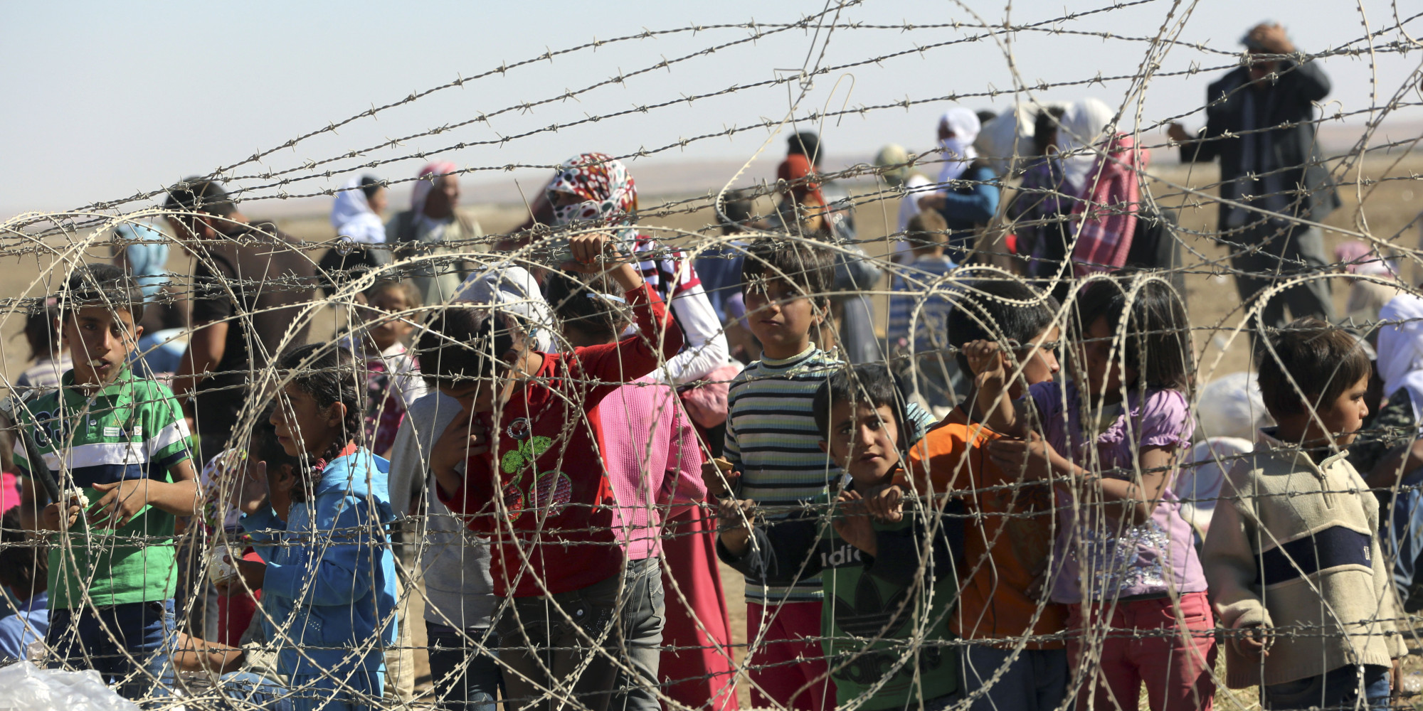 130,000 Syrians Have Fled ISIS And Taken Refuge In Turkey In The Past 4 Days