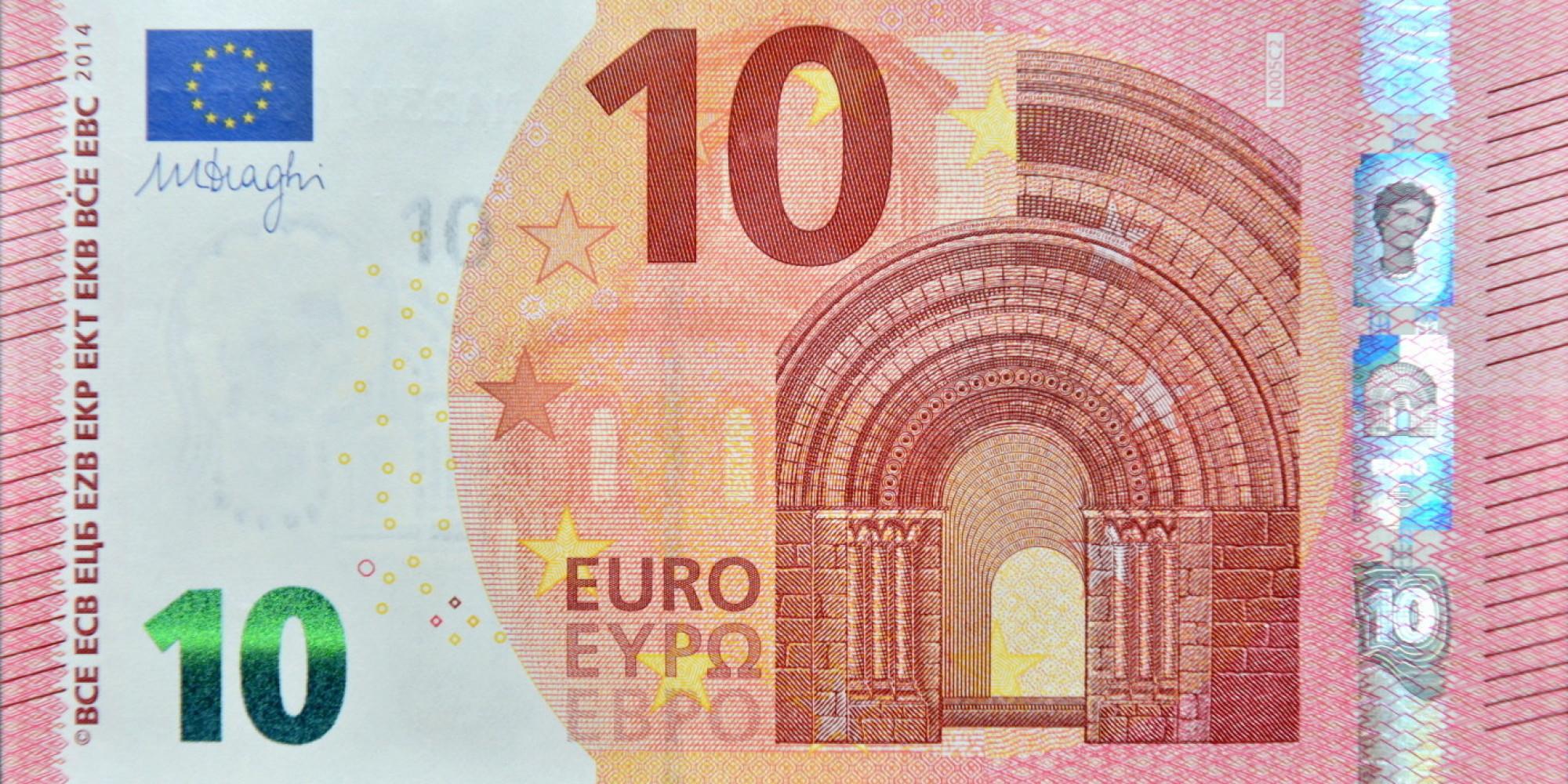 10 euro: la nuova banconota in circolazione da martedì 23 ...