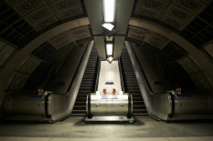 Disused Tube station  | Pic: Getty