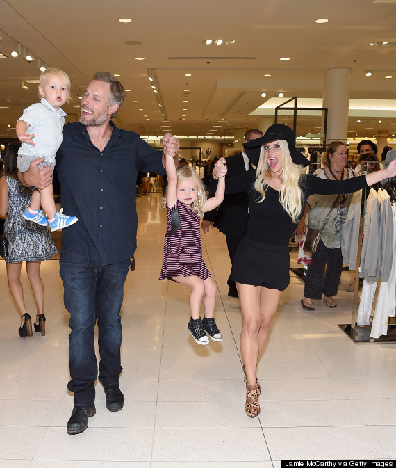 Jessica Simpson's Kids Steal The