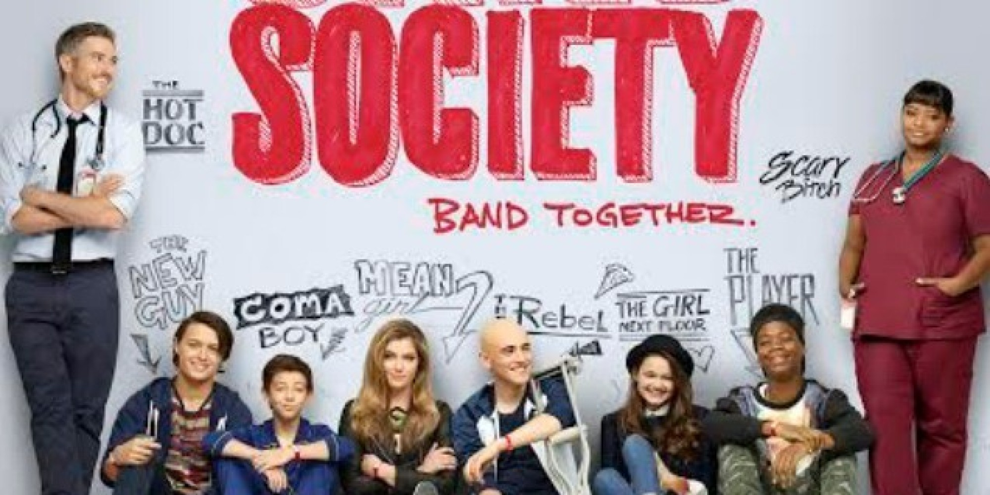 Red Band Society Ads Calling Octavia Spencer Scary