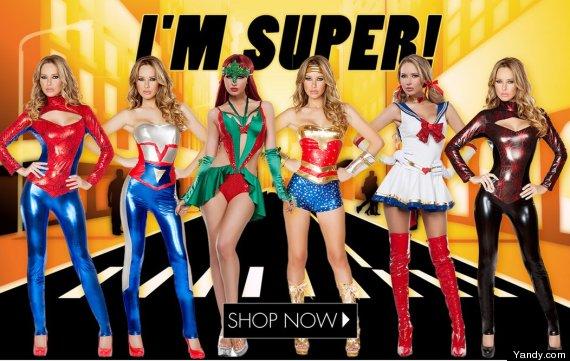 sexy superheroes