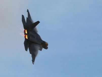 Militärflugzeug F22