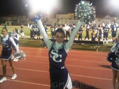 Kendall Jenner  Boyfriend on Kendall Jenner In Her Cheerleading Uniform  Photo