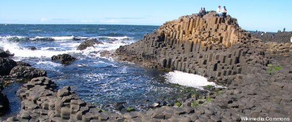 Diese Felsen sehen aus, als hätte sie ein Mensch geschaffen
