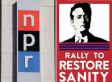 NPR Bans Employees From Jon Stewart's & Stephen Colbert's Rallies