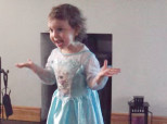 Parents Interrupt Toddler's Performance Of 'Frozen,' But She Will NOT Let It Go