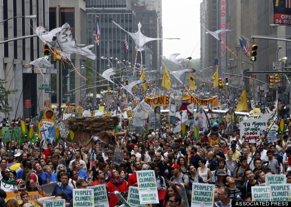 new york climate march