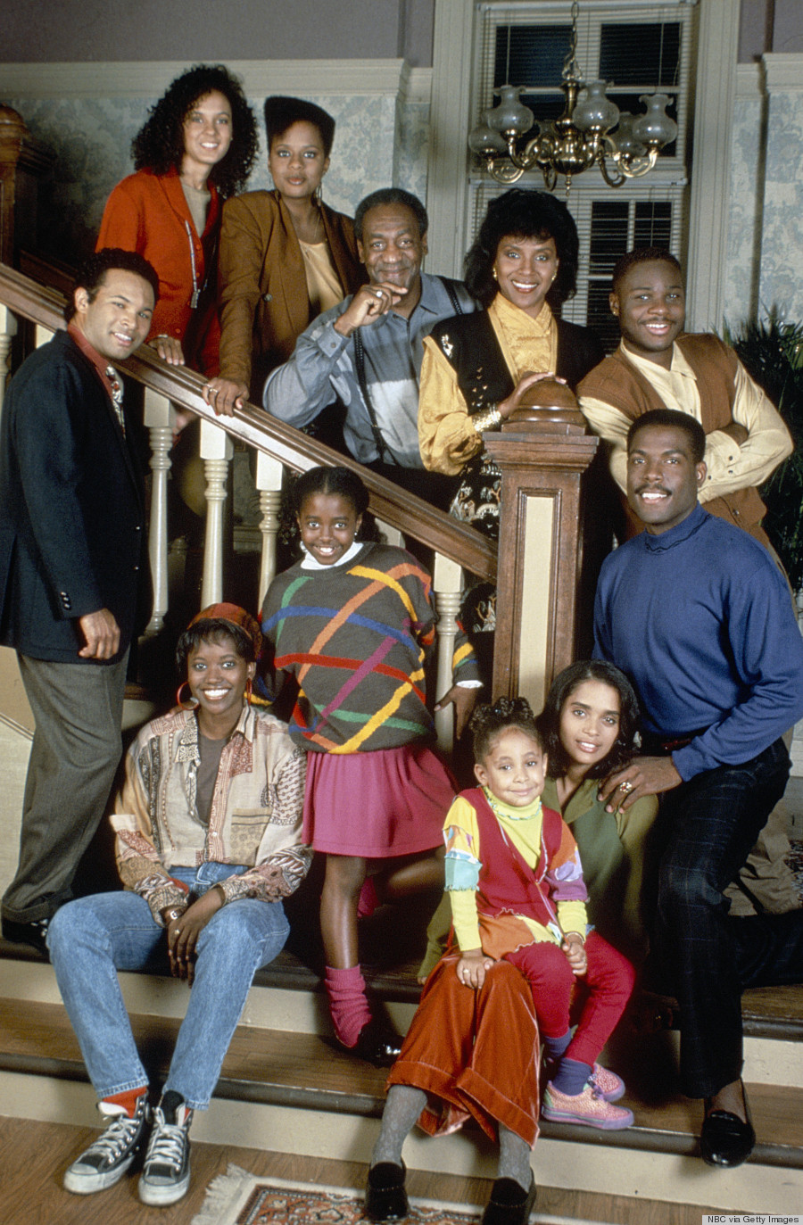 Bill cosby family photos - The Cosby Show Cast Season 7