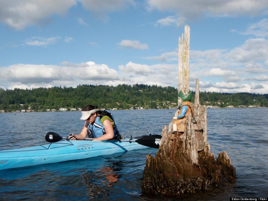 kayak geocache
