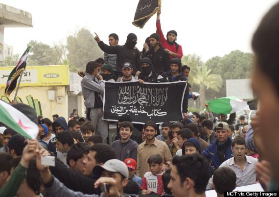 raqqa 2013 march