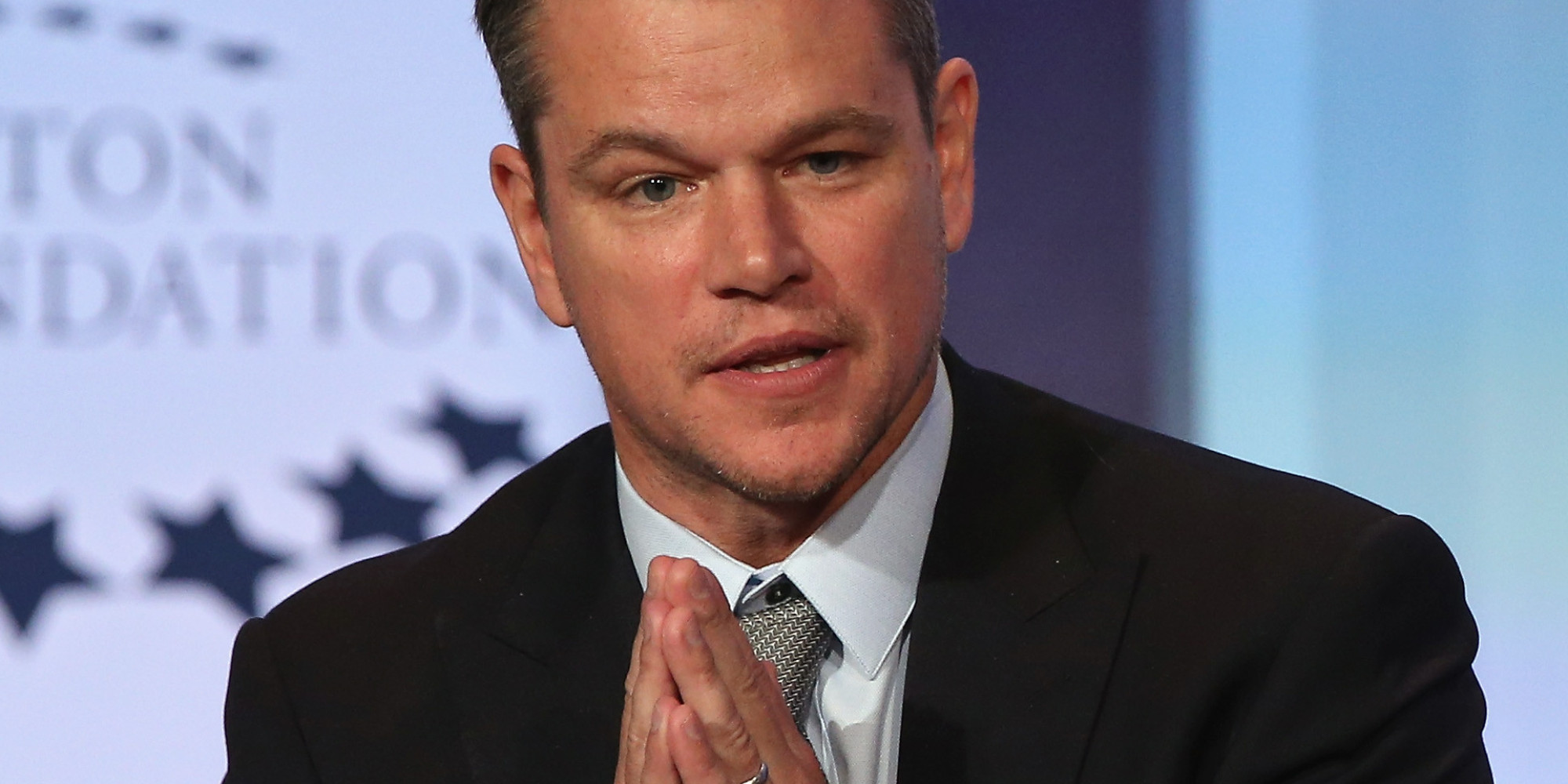 Matt Damon Nails Impression Of Bill Clinton, Raises Water Awareness While He's At It