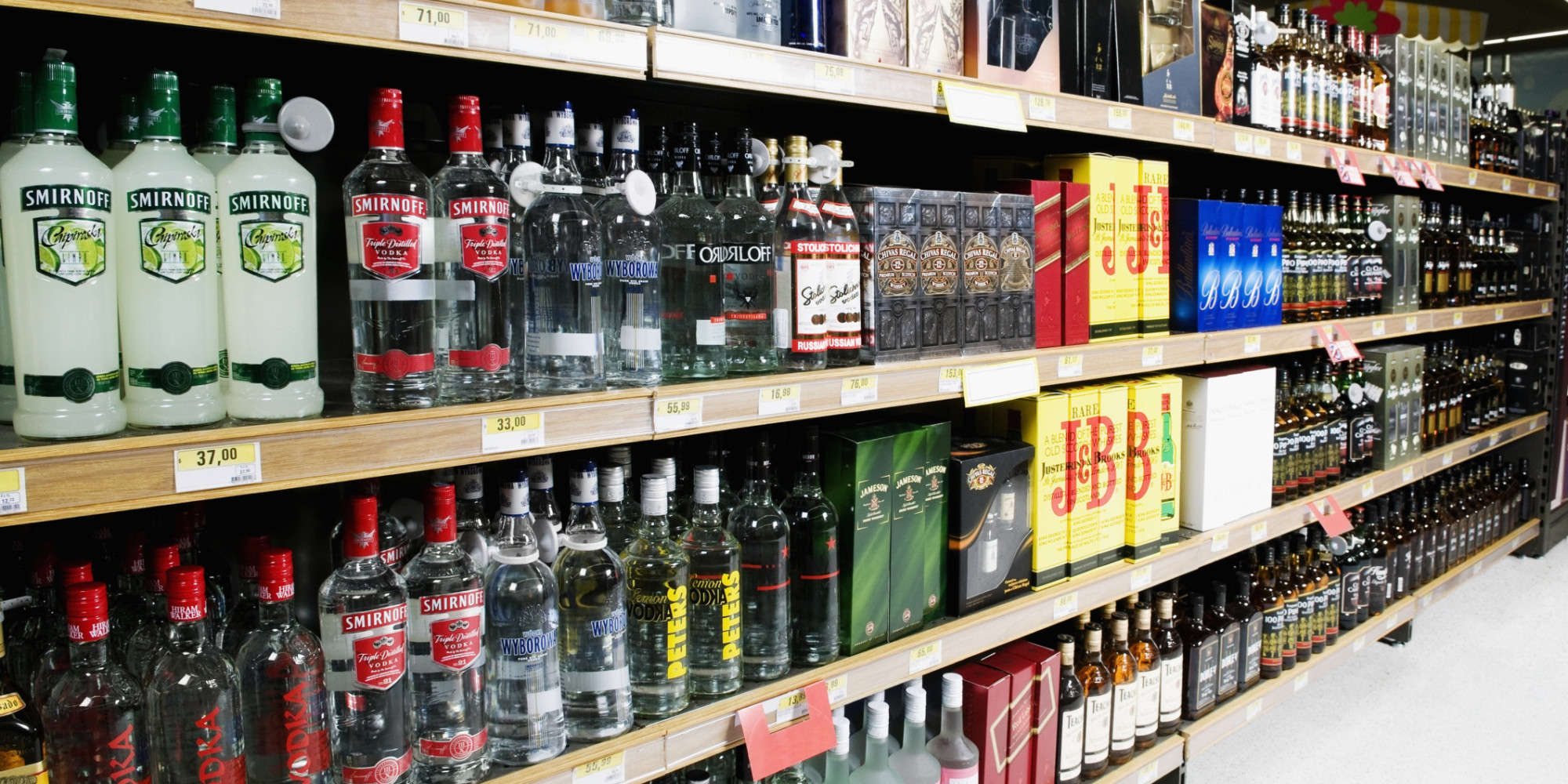 Liquor Store Stops Selling Cheap Spirits To Curb Alcohol