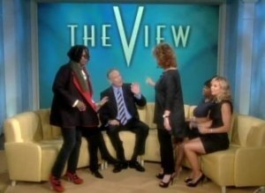 Joy Whoopi Walk Off