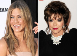 Jennifer Aniston Joan Collins