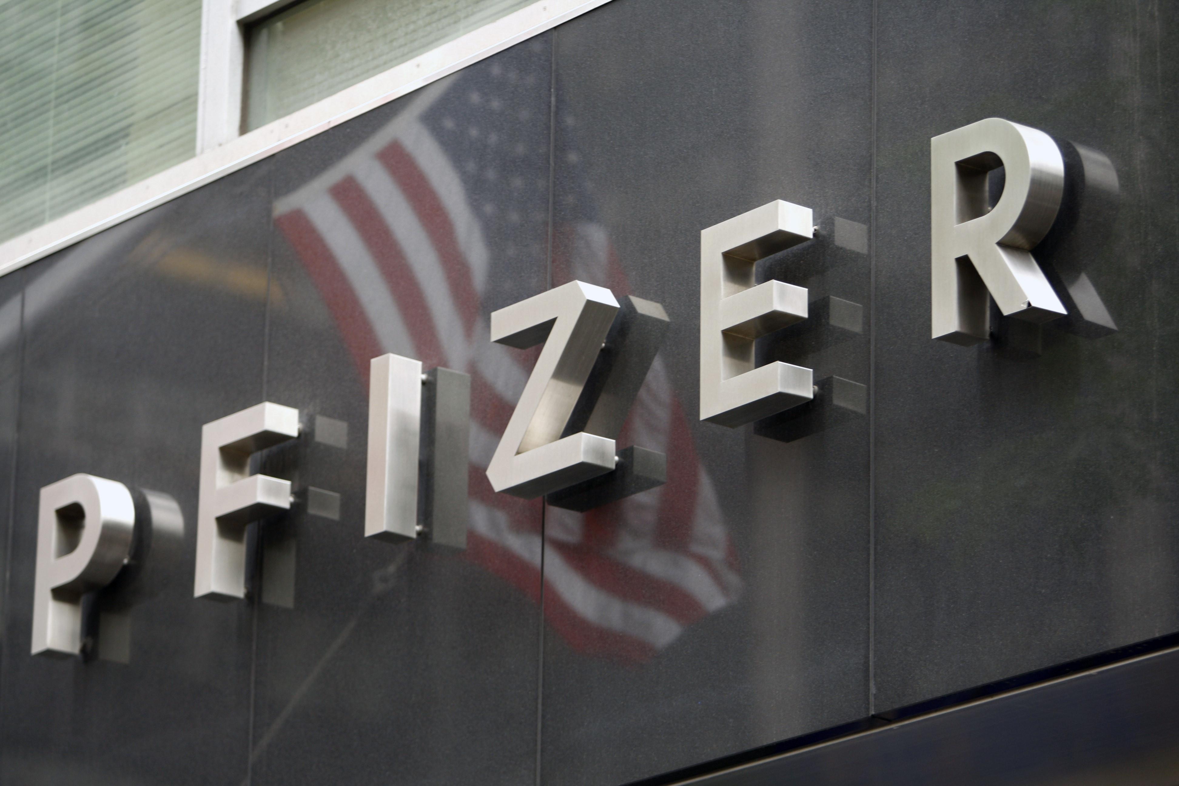 pfizer flag
