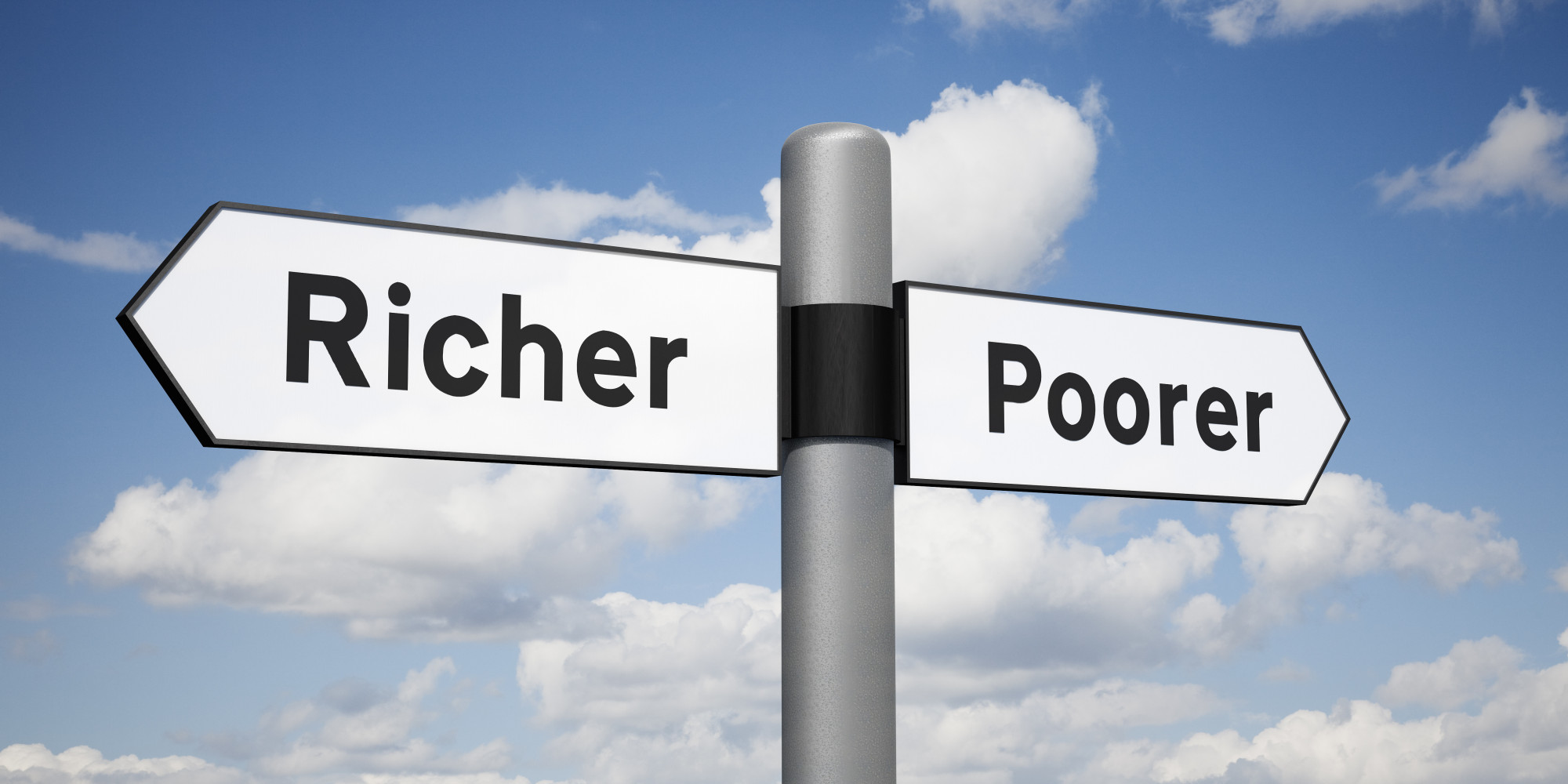 Poor Are Better Than Rich :: essays research papers