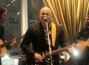 Tom Colicchio Guitar Rocks Out
