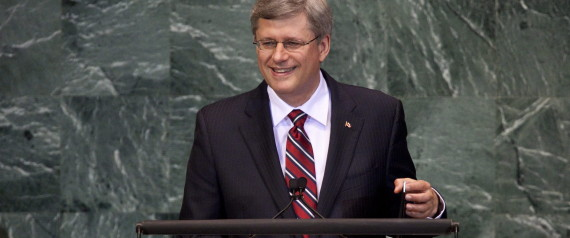 STEPHEN HARPER UNITED NATIONS