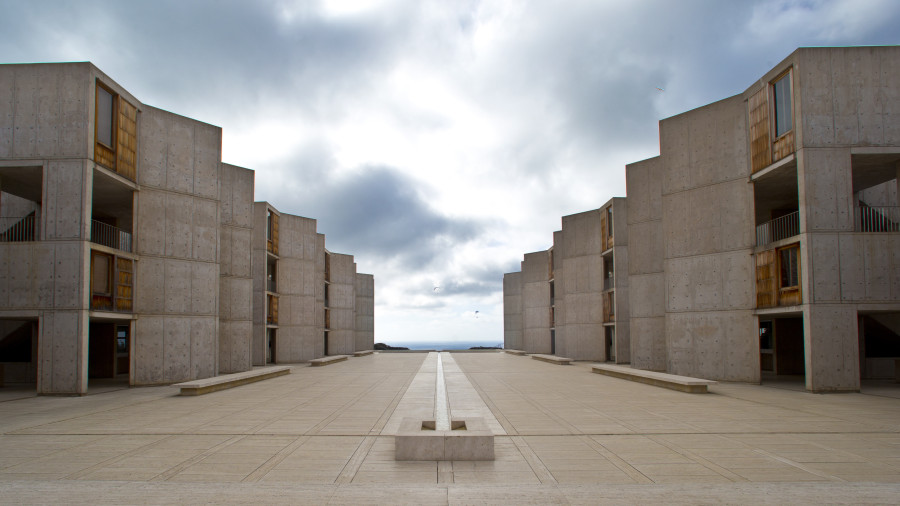... Designed By World Renowned Architect Louis I. Kahn, Above The Pacific  Ocean And Adjacent The Glider Port And The University Of California San  Diego.