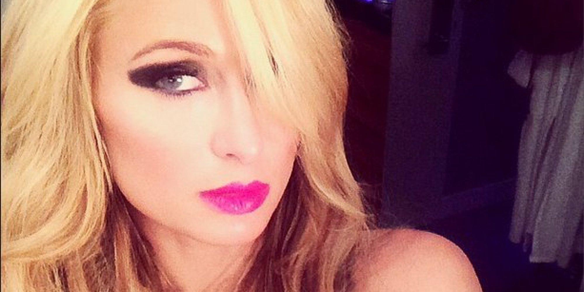 Paris Hilton Shares Photos From Her Bondage-Themed Shoot