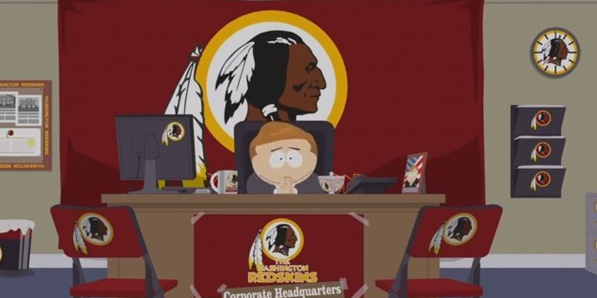 'South Park' Takes Down Redskins' Name, Dan Snyder And The