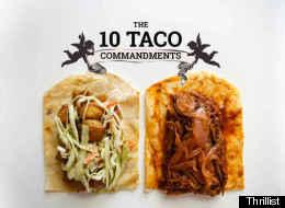 The 10 Taco Commandments