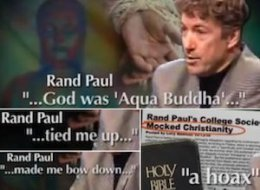 Rand Paul Secret Society Aqua Buddha Attacked
