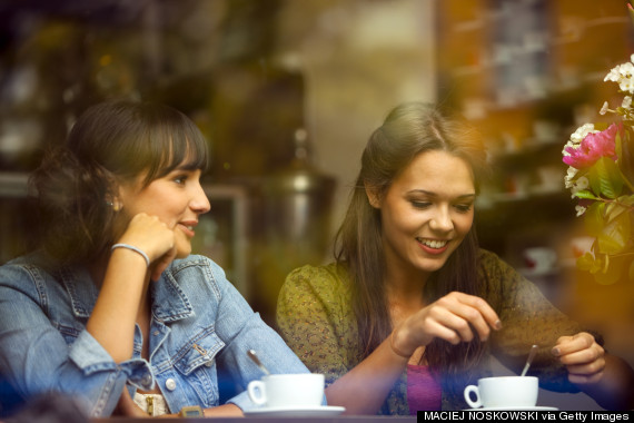 friend talking