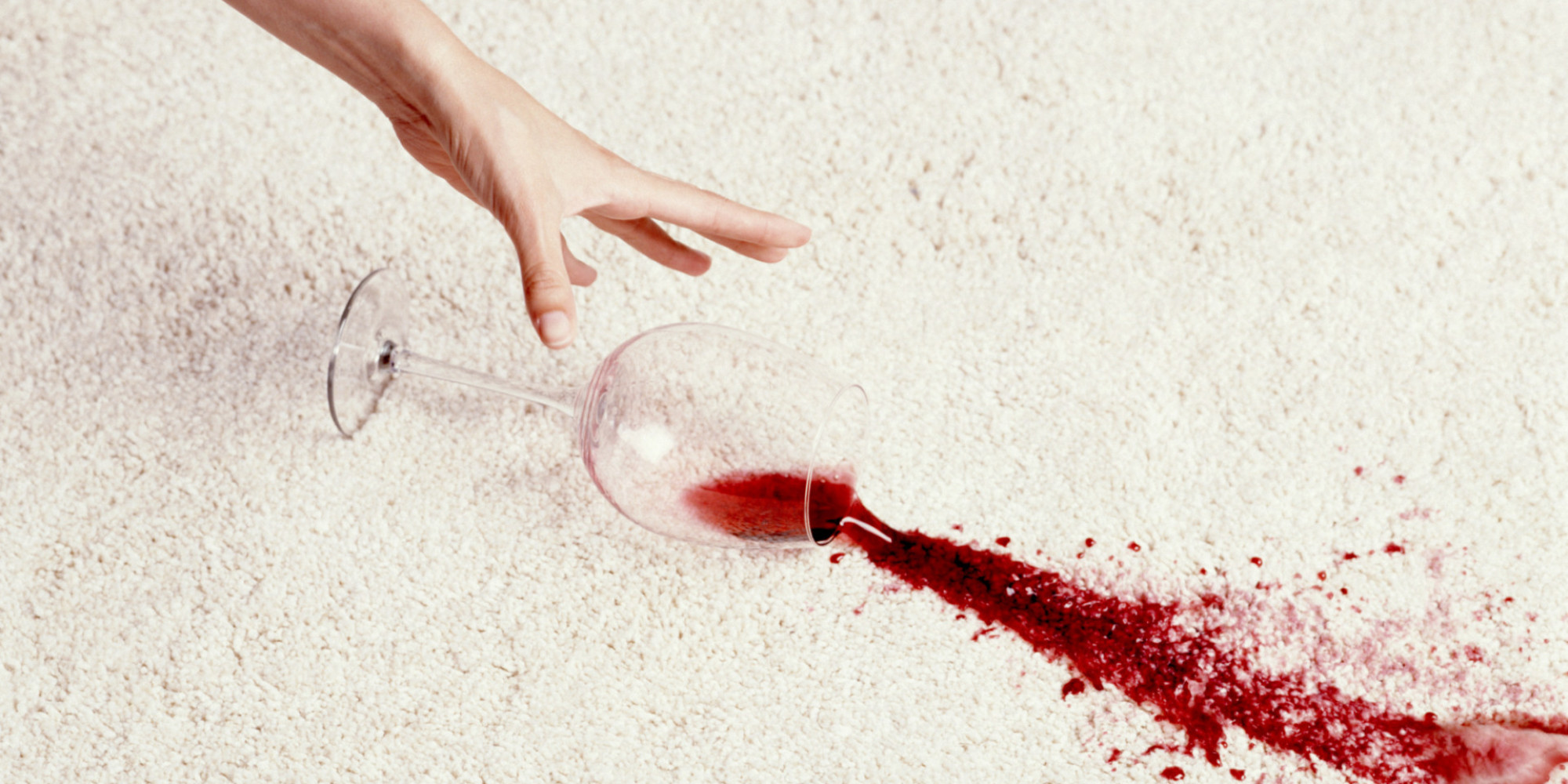 The Best Tips For Cleaning Red Wine Stains Huffpost