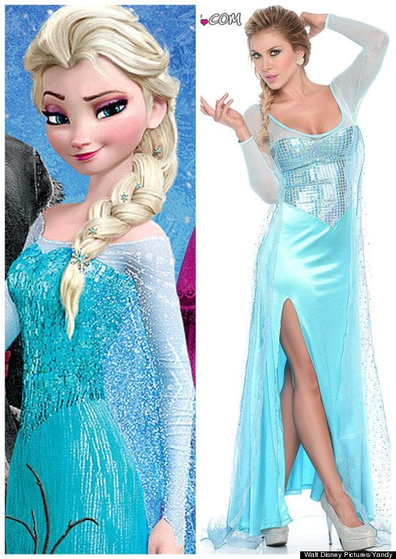 sexy elsa halloween  sc 1 st  HuffPost & You Can Dress As Sexy Olaf From u0027Frozenu0027 For Halloween If You Want ...