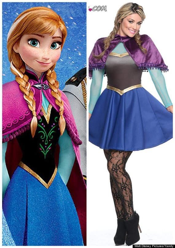 sexy anna costume  sc 1 st  HuffPost & You Can Dress As Sexy Olaf From u0027Frozenu0027 For Halloween If You Want ...
