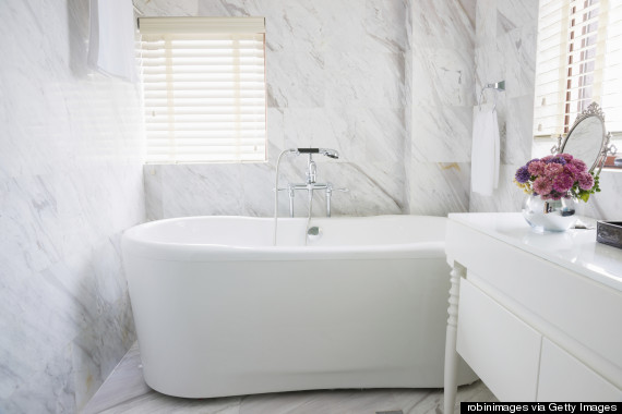contemporary bathtub