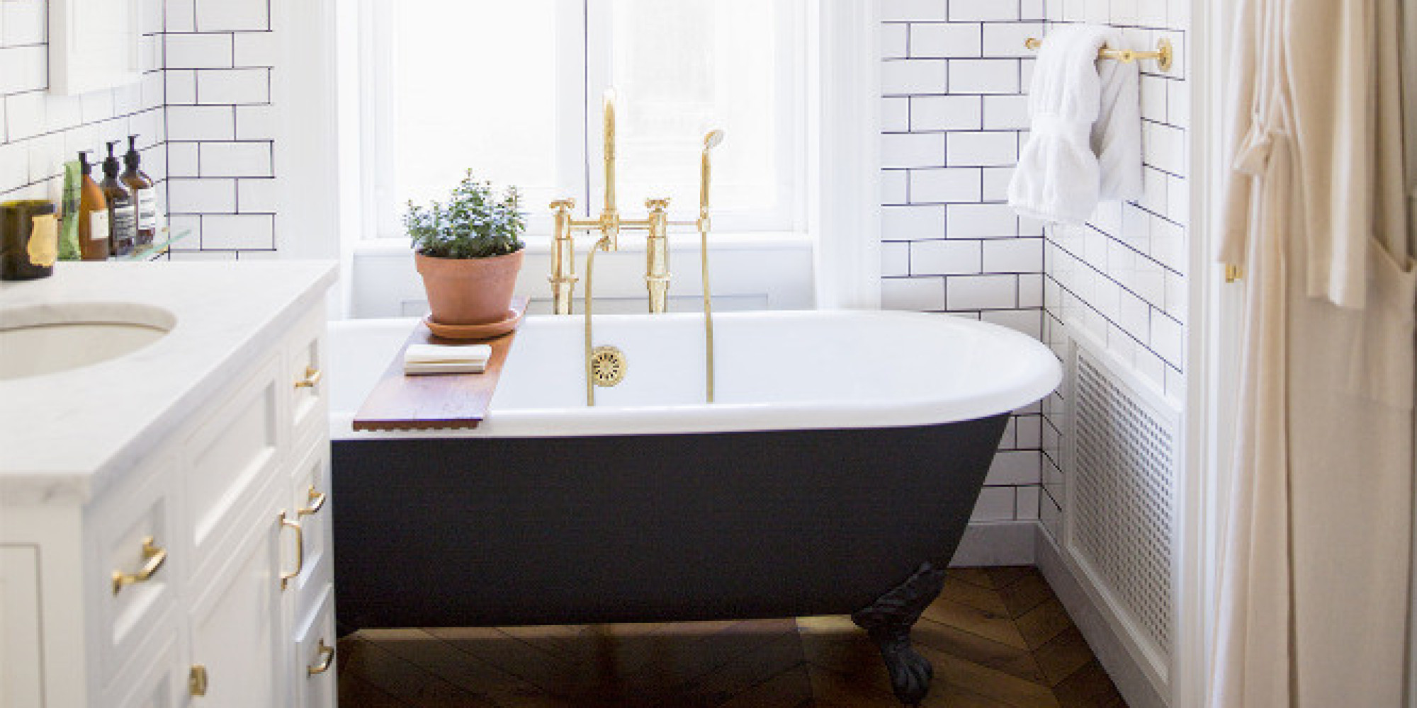 The 6 biggest bathroom trends of 2015 are what we 39 ve been waiting for huffpost - New bathroom designs in trends ...