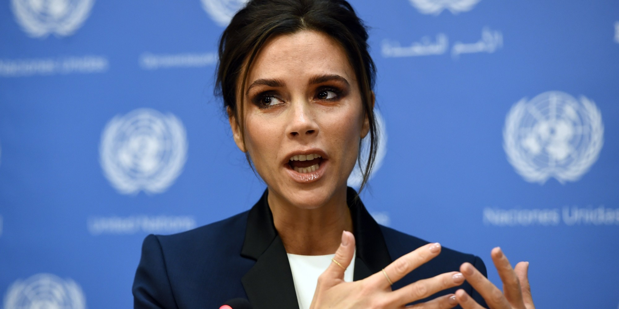 Victoria beckham delivers truly honest passionate speech at un the