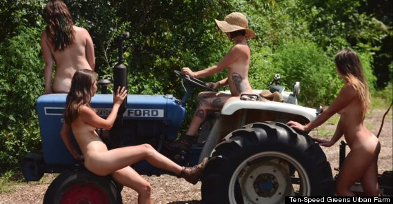 Necessary words... Working women in farm naked can