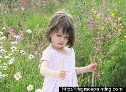 '모네'의 그림 같은 5살 자폐아의 작품(사진)