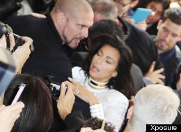 Kim Kardashian Attacked By Serial Prankster At Paris Fashion Week