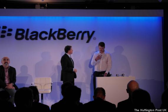 blackberry passport launch
