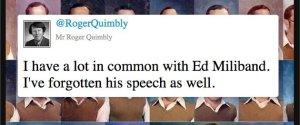 ED MILIBAND FUNNY TWEETS